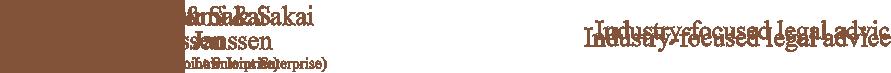 Atsumi & Sakai Janssen Foreign Law Joint Enterprise Logo